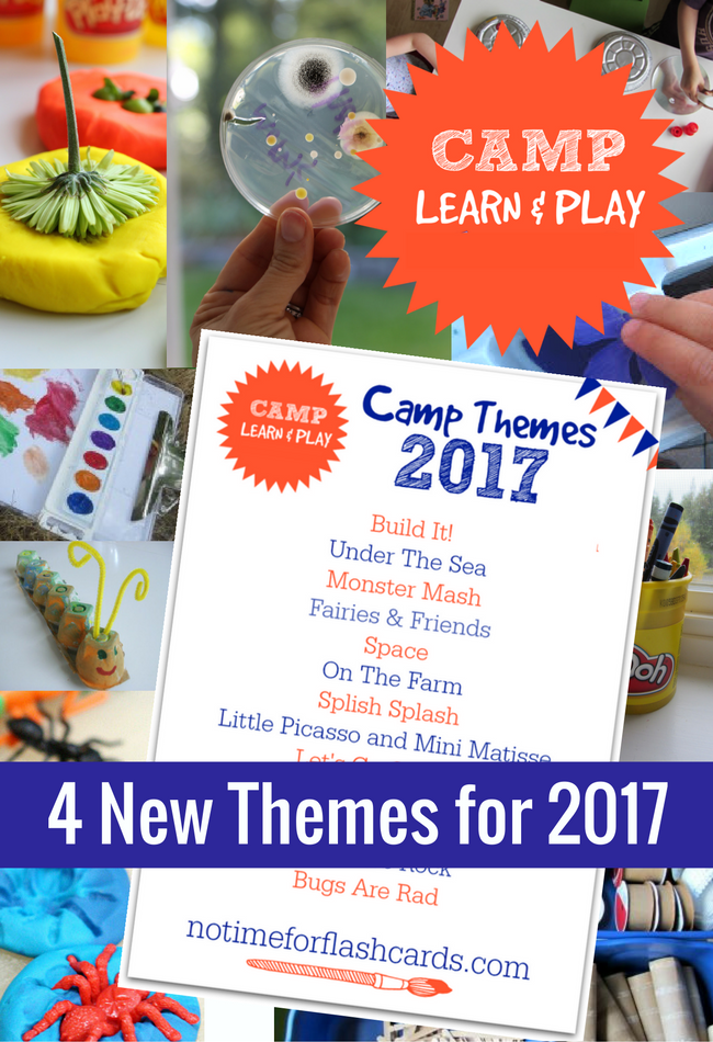free summer camp at home