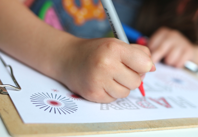 printable 4th of july coloring page fine motor skills for preschool (1)