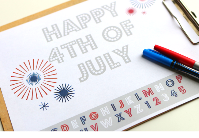 July 4 Coloring Pictures : 4th of july printable coloring page no time for flash cards