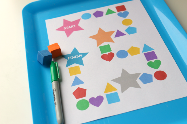 shape printable for preschool