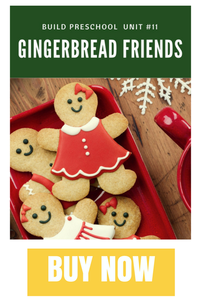 GINGERBREAD MAN THEMATIC UNIT FOR PRESCHOOL