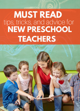 Must Read Advice for New Preschool Teachers