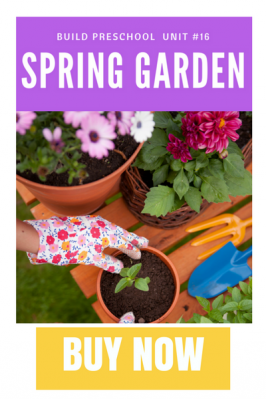 Spring garden sales page