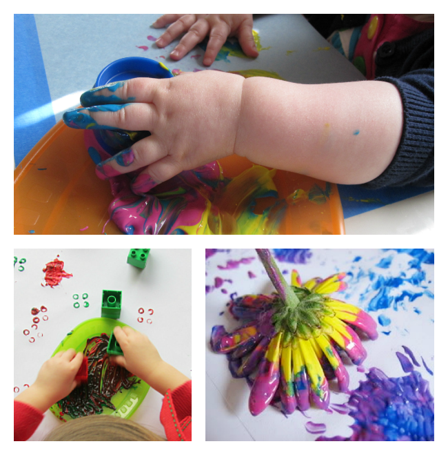 art projects for preschool without paintbrushes no time for flash cards