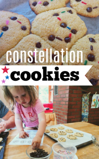 constellation cookies with rosie research science activities STEM for kids