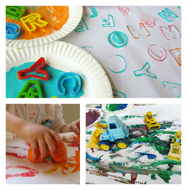 painting projects for preschool
