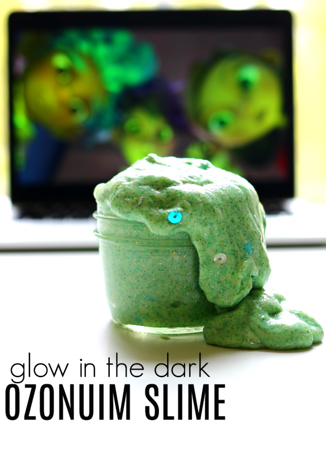 GLOW IN THE DARK OZONIUM SLIME