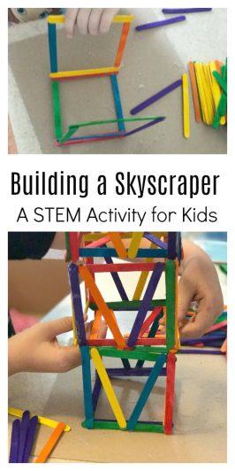 Skyscraper Day Building Activity