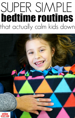Super simple bedtime routines that actually calm kids down.
