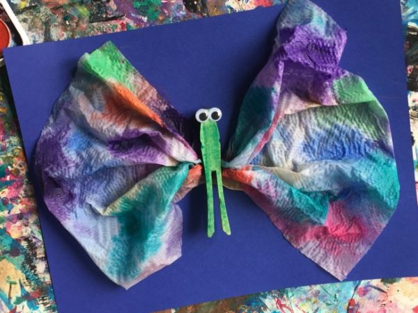 rainbow butterfly 5