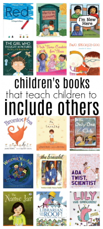 books that teach children to include others