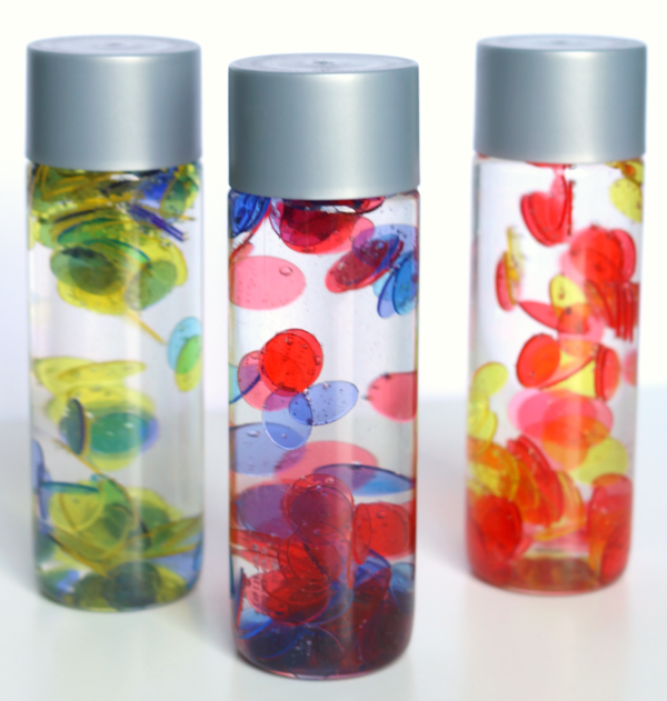 color mixing sensory bottles no time for flash cards