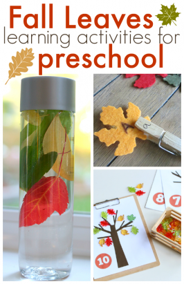 Preschool Fall Leaves Activities – Free Printables and More!
