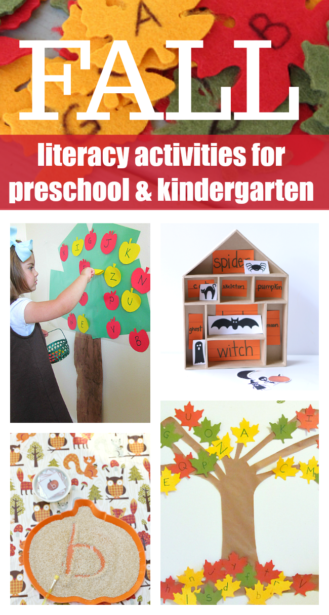 Fall Literacy Activities For Preschool And Kindergarten