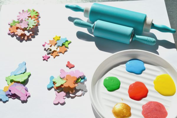foam stamp roller painting supplies