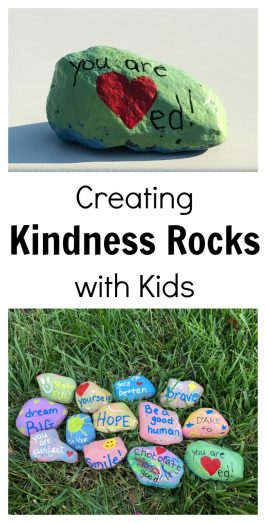 Creating Kindness Rocks with Kids