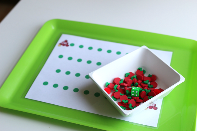 math game for preschool no time for flash cards