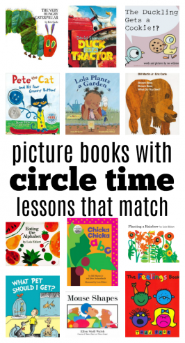 15 Circle Time Lessons To Go With These Favorite Children's Books