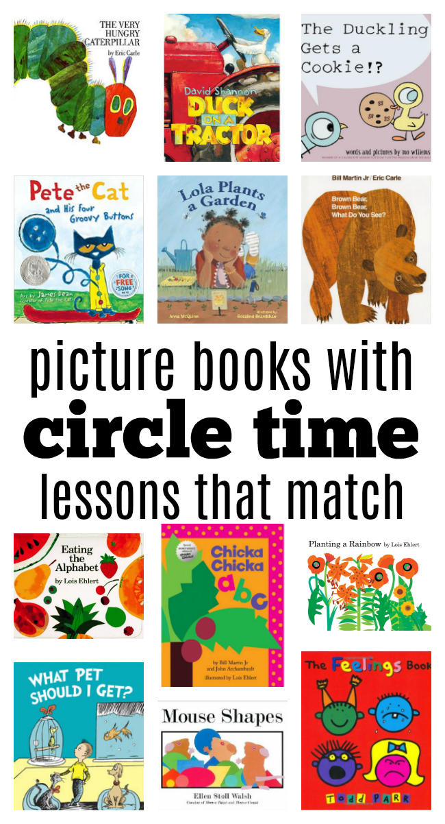 15 Circle Time Lessons With Favorite Children S Books
