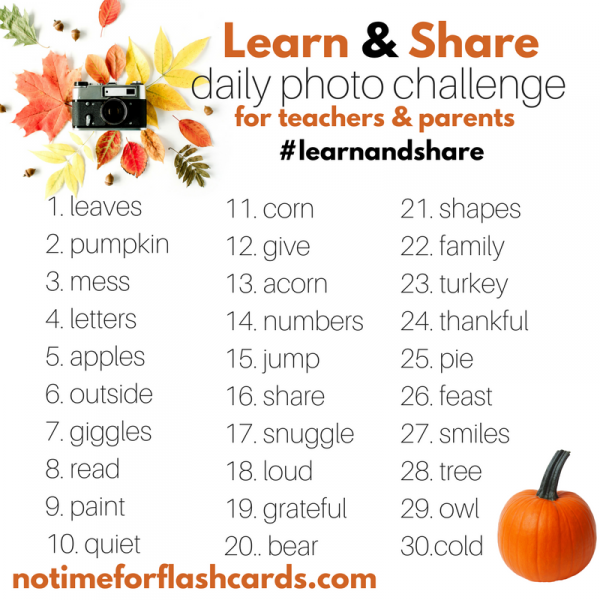 learn and share instagram challenge