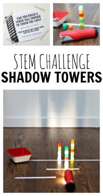 STEM CHALLENGE - SHADOW TOWERS