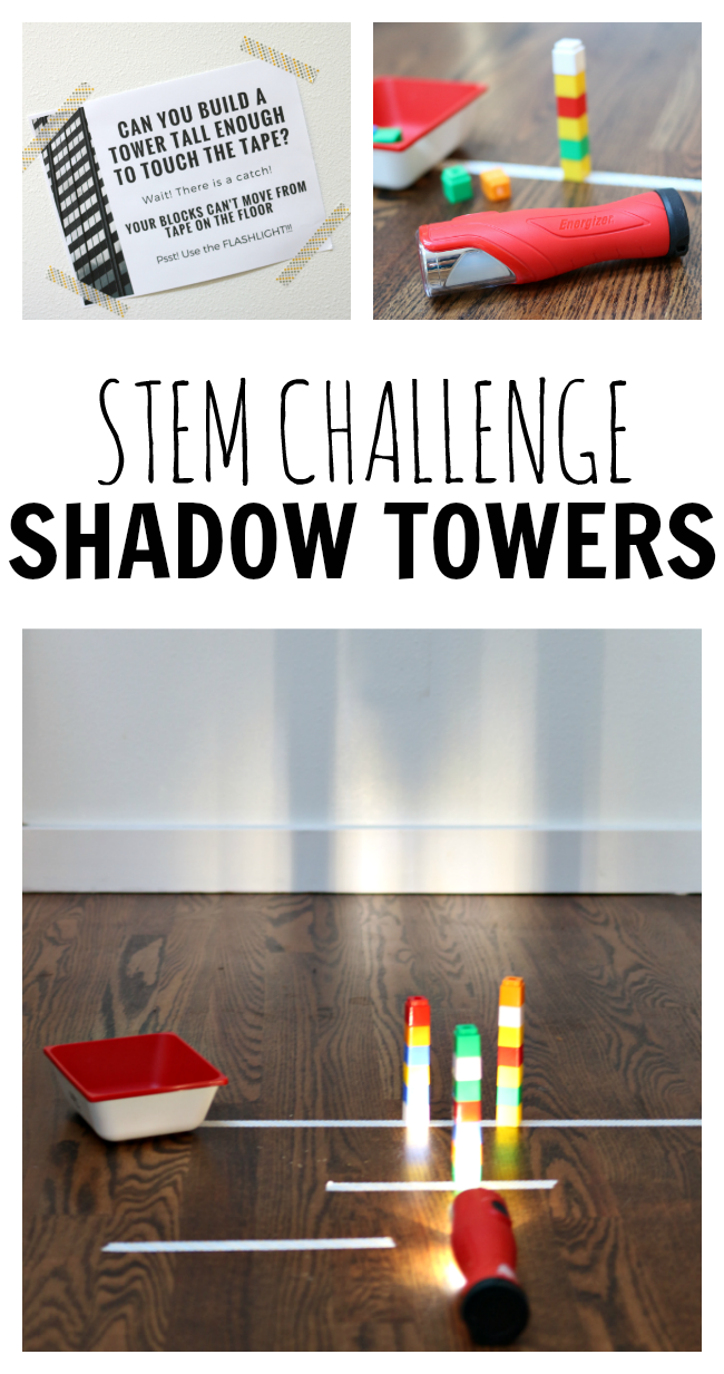 STEM CHALLENGE - SHADOW TOWERS