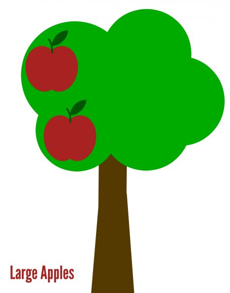 apple tree free printables for circletime big