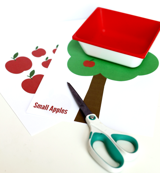 apple tree sorting materials