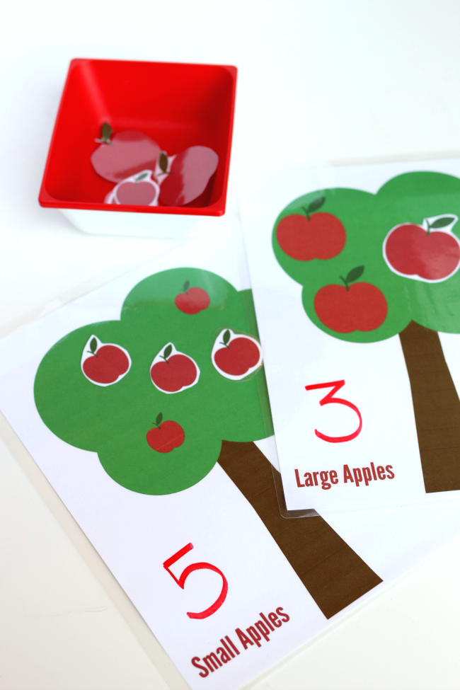 differentiation sorting apples