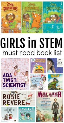 girls in stem book list