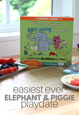 Easiest Ever Screen Free Playdate with Elephant & Piggie