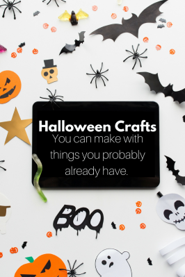 Halloween Crafts You Can Make With Things You Probably Already Have
