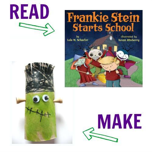 Halloween books and craft ideas for preschool