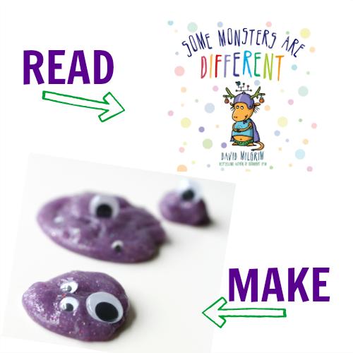 Monster crafts for kindergarten