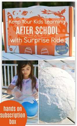 Glow In The Dark Moon – Learning After School with Surprise Ride