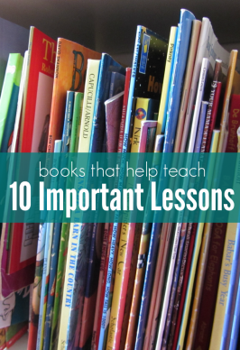 10 Lessons I Want My Kids To Learn and Books That Help Teach Them