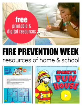 National Fire Prevention Week – Resources for Home & School
