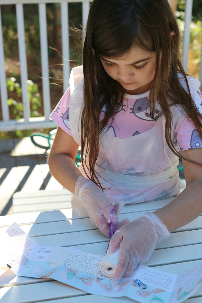 plaster moon craft for kids
