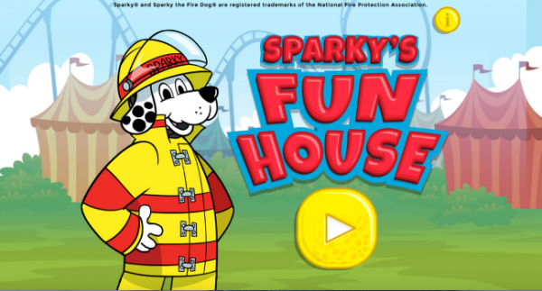 sparkly's fun house
