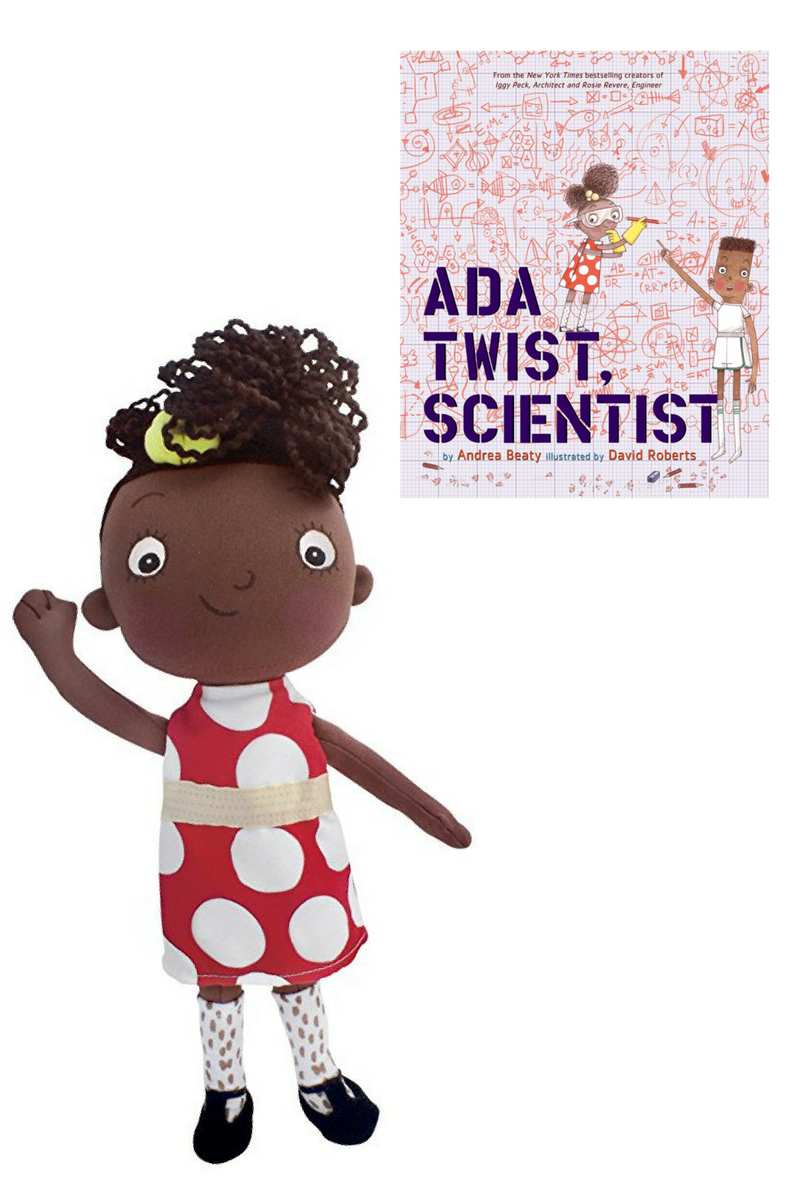 Ada Twist Scientist doll and book