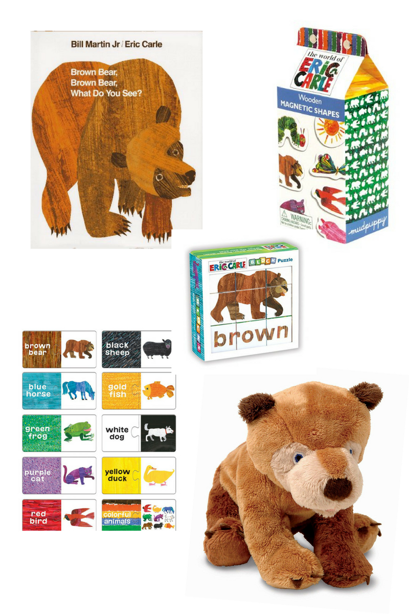 Brown Bear, Brown Bear gifts
