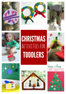 CHRISTMAS ACTIVITIES FOR TODDLERS