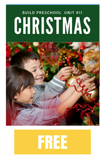 Christmas printables for preschool