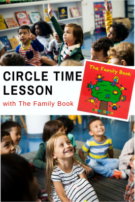 Circle Time Lesson Plan with The Family Book