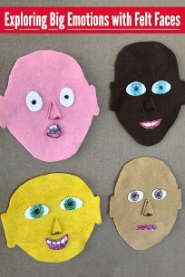 Exploring Big Emotions with Felt Faces