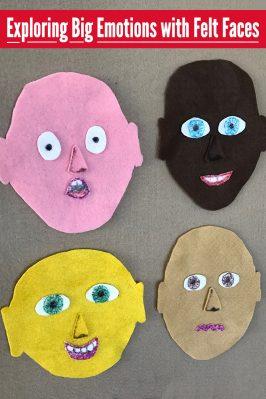 Exploring Big Emotions with Felt Faces