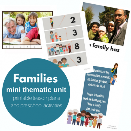 Families mini-unit