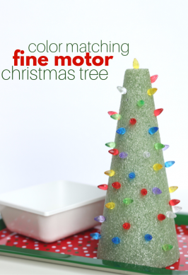 Color Matching Christmas Tree – Fine Motor Activity