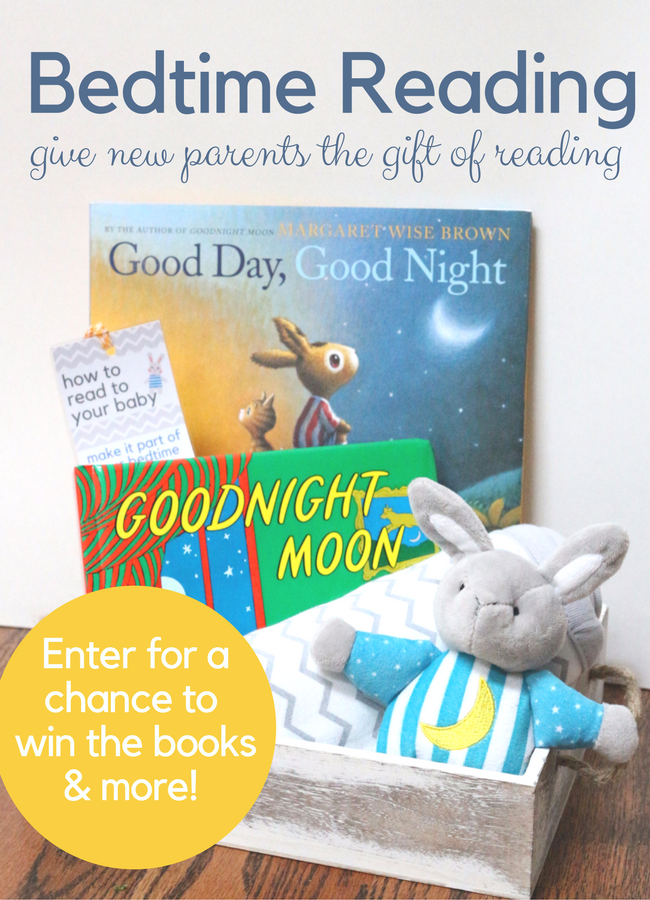 Bedtime Reading Gift with Good Day, Good Night - No Time For Flash Cards