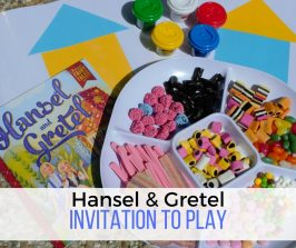 Hansel & Gretel Playdough Invitation to Play